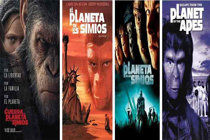 peliculas el planeta de los simios